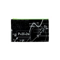 School Board  Cosmetic Bag (xs) by Valentinaart