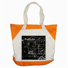 School Board  Accent Tote Bag by Valentinaart
