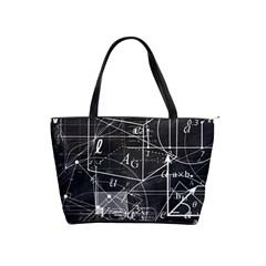 School Board  Shoulder Handbags by Valentinaart