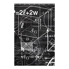 School Board  Shower Curtain 48  X 72  (small)  by Valentinaart