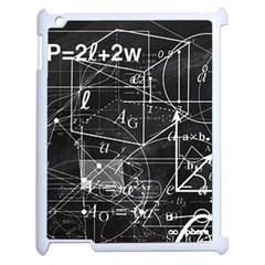 School Board  Apple Ipad 2 Case (white) by Valentinaart