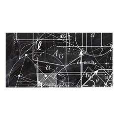 School Board  Satin Shawl by Valentinaart