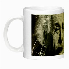 Albert Einstein Night Luminous Mugs by Valentinaart