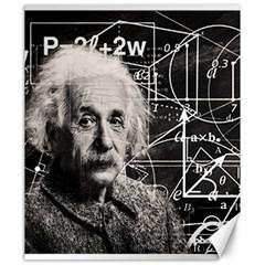 Albert Einstein Canvas 20  X 24   by Valentinaart