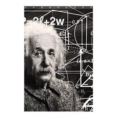 Albert Einstein Shower Curtain 48  X 72  (small)  by Valentinaart