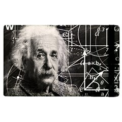 Albert Einstein Apple Ipad 2 Flip Case by Valentinaart
