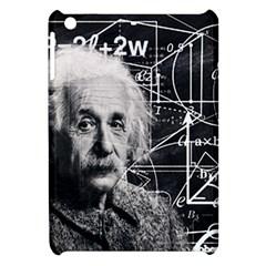 Albert Einstein Apple Ipad Mini Hardshell Case by Valentinaart