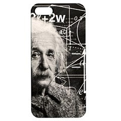 Albert Einstein Apple Iphone 5 Hardshell Case With Stand by Valentinaart