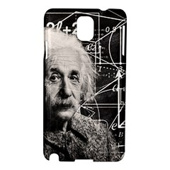 Albert Einstein Samsung Galaxy Note 3 N9005 Hardshell Case by Valentinaart