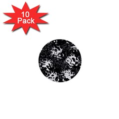 Pattern 1  Mini Buttons (10 Pack)  by Valentinaart