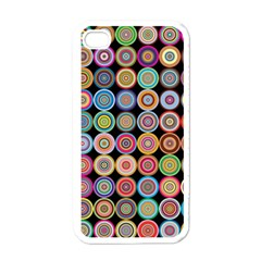 Pattern Apple Iphone 4 Case (white) by Valentinaart