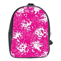 Pattern School Bags(large)  by Valentinaart