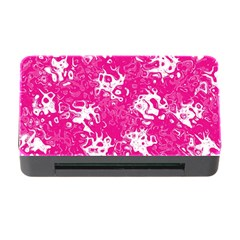 Pattern Memory Card Reader With Cf by Valentinaart