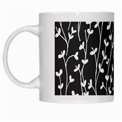 Pattern White Mugs by Valentinaart