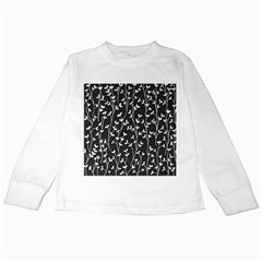 Pattern Kids Long Sleeve T Shirts by Valentinaart