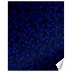 Pattern Canvas 11  X 14   by Valentinaart