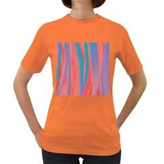 Pattern Women s Dark T Shirt by Valentinaart