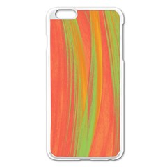 Pattern Apple Iphone 6 Plus/6s Plus Enamel White Case by Valentinaart