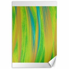Pattern Canvas 24  X 36  by Valentinaart