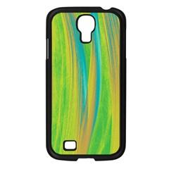 Pattern Samsung Galaxy S4 I9500/ I9505 Case (black) by Valentinaart