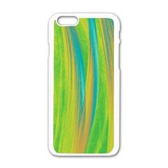 Pattern Apple Iphone 6/6s White Enamel Case by Valentinaart