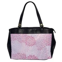 Floral Pattern Office Handbags by Valentinaart