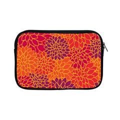 Floral Pattern Apple Ipad Mini Zipper Cases by Valentinaart
