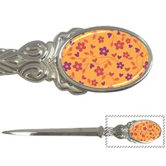 Floral Pattern Letter Openers by Valentinaart
