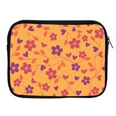 Floral Pattern Apple Ipad 2/3/4 Zipper Cases by Valentinaart