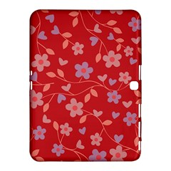 Floral Pattern Samsung Galaxy Tab 4 (10 1 ) Hardshell Case  by Valentinaart
