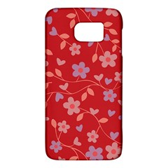 Floral Pattern Galaxy S6 by Valentinaart