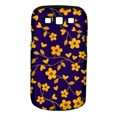 Floral Pattern Samsung Galaxy S Iii Classic Hardshell Case (pc+silicone) by Valentinaart