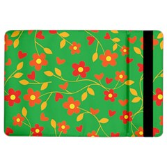 Floral Pattern Ipad Air 2 Flip by Valentinaart