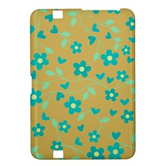 Floral Pattern Kindle Fire Hd 8 9  by Valentinaart