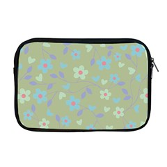 Floral Pattern Apple Macbook Pro 17  Zipper Case by Valentinaart