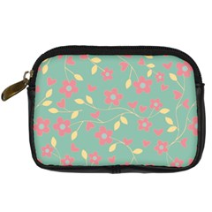 Floral Pattern Digital Camera Cases by Valentinaart