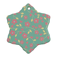 Floral Pattern Ornament (snowflake) by Valentinaart