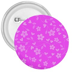 Floral Pattern 3  Buttons by Valentinaart