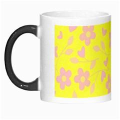 Floral Pattern Morph Mugs by Valentinaart