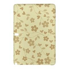 Floral Pattern Samsung Galaxy Tab Pro 10 1 Hardshell Case by Valentinaart