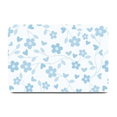 Floral Pattern Plate Mats by Valentinaart