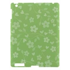 Floral Pattern Apple Ipad 3/4 Hardshell Case by Valentinaart