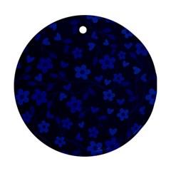 Floral Pattern Ornament (round) by Valentinaart