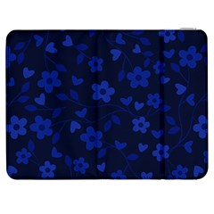 Floral Pattern Samsung Galaxy Tab 7  P1000 Flip Case by Valentinaart