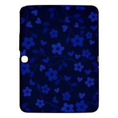 Floral Pattern Samsung Galaxy Tab 3 (10 1 ) P5200 Hardshell Case  by Valentinaart