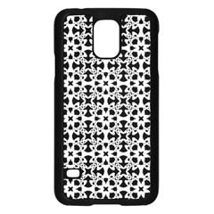 Pattern Samsung Galaxy S5 Case (black) by Valentinaart