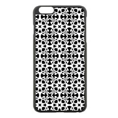 Pattern Apple Iphone 6 Plus/6s Plus Black Enamel Case by Valentinaart