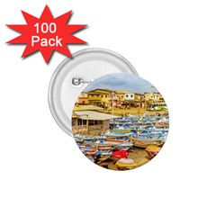 Engabao Beach At Guayas District Ecuador 1 75  Buttons (100 Pack)  by dflcprints