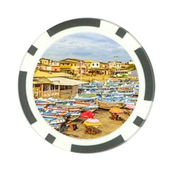 Engabao Beach At Guayas District Ecuador Poker Chip Card Guard (10 Pack) by dflcprints