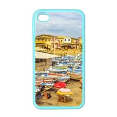 Engabao Beach At Guayas District Ecuador Apple Iphone 4 Case (color) by dflcprints